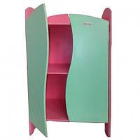 """Кукольный шкафчик """"Цветной"""" арт. 080"""