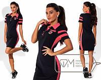 Женское летнее платье спортивная девушка