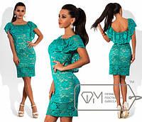 Женское вечернее платье испанская кокетка