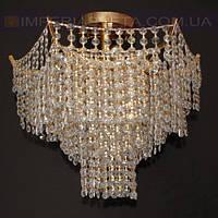 Люстра хрустальная припотолочная IMPERIA семиламповая LUX-344643