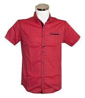 Рубашка мужская Punto батал красная
