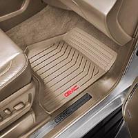 GMC Yukon Yukon XL 2015 коврики передние бежевые новые оригинал