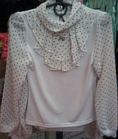 Красивая блузка для девочки 1-6 классы опт и розница S918