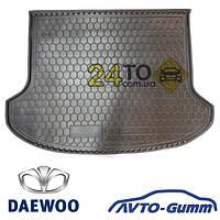 Коврик в багажник для DAEWOO Lanos (хетчбэк) (Avto-Gumm), Деу Ланос