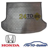 Коврик в багажник для HONDA Civic (2006-...) (седан) (Avto-Gumm), Хонда Сивик