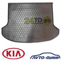 Коврик в багажник для KIA Cerato lll (2013-...) (седан) (BASE) (Avto-Gumm), Киа Черато