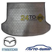 Коврик в багажник для MAZDA 6 (2008-...) (седан) (Avto-Gumm), Мазда 6