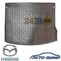 Коврик в багажник для MAZDA 3 (2013-...) (хетчбэк) (Avto-Gumm), Мазда 3