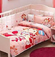 Детское постельное белье с бортиком в кроватку ТАС STRAWBERRY SHORTCAKE BERRY BABY