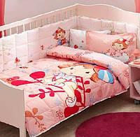 Постельное белье для кроватки с бортиком TAC STRAWBERRY SHORTCAKE BERRY BABY
