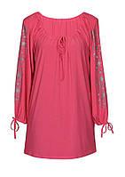 Женская Туника/рубашка из импортного материала Батал, Украина