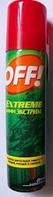 Аэрозоль Off Extreme (Офф Экстрим) от комаров, клещей и др. насекомых, 100 мл. без запаха