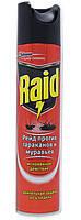 Аерозоль Raid против тараканов та муравьев 300ml