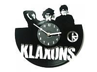 Виниловые часы Klaxons