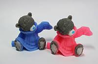 """Мыло """"Мишка Тедди в свитере"""" ручной работы хэндмэйд"""