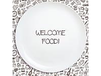 Тарелка Welcome на Подарок