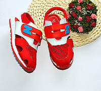 Детские летние кроссовки для мальчиков, р-р 31 (18 см)