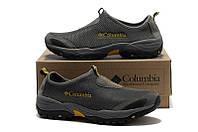 Мужские летние ботинки Columbia серые