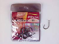 Крючки рыболовные Cobra funa №11