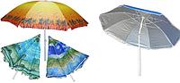 Зонт  пляжный, торговый, для отдыха на природе  c напылением 2 м  -S632