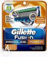 Gillette Fusion ProGlide Power 4 шт Только Высокое качество