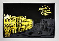 Набор из 4-х скретч открыток Лондон