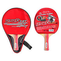 Ракетка для настольного тенниса Profi MS 0049 в чехле KHT/53-2
