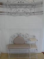 Кованый набор мебели в прихожую  -  033