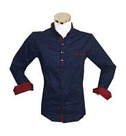 Рубашка мужская батал приталенный крой , фото 1