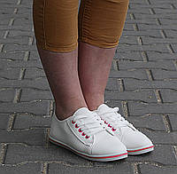 Женские кеды Снежана Красный, фото 1