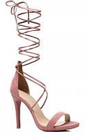 Женские босоножки Юлиана Розовый, фото 1