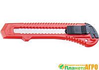 Нож строительный, 18 мм, выдвижное лезвие MATRIX