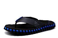 Шлепанцы Nike Sidewinder, мужские, черные с синим, р. 39 40 42 44, фото 1