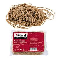 Резинки для денег Axent натуральный каучук 1000г, 4633-А