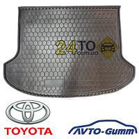 Коврик в багажник для TOYOTA Camry(2006-...)(Америка 2.4L/Европа 3.5L), (Avto-Gumm), Тойота Камри