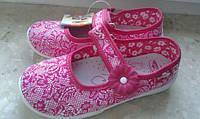 Детская текстильная обувь  и кеды