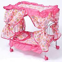 Кроватка для кукол Melogo 9350 (цвет уточняйте)