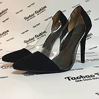 Туфли лодочки с силиконовыми вставками