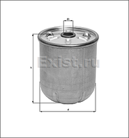 Фильтр масляный центрифуга Knecht (Mahle Filter)OZ 5 аналог OR745/2