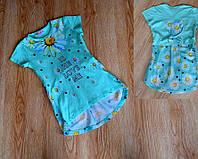 Модная детская туника 3 цвета
