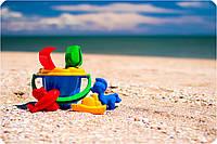 Детский песочный набор для пляжа