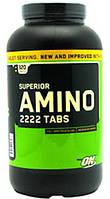 Высококачественные аминокислоты в таблетках AMINO 2222 tabs от Optimum Nutrition (320 таб)