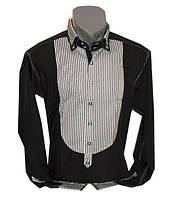 Рубашка мужская стиль мажор приталенный крой, фото 1