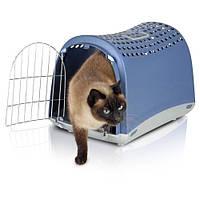 Imac Linus АЙМАК ЛИНУС переноска для собак и кошек, пластик, 50х32х34,5 см, синий
