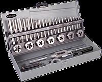Набор метчиков и плашек M3 - M12, 32 предмета, VIGOR, V2253