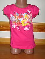 Детская футболка для девочки Винкс, Winx Sun Sity Франция  3-8лет