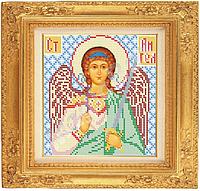 Схема вышивки иконы бисером «Ангел-хранитель» ВШ,200х210,Габардин,Арт.С-24 /00-31