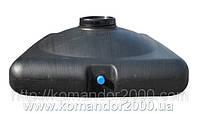 Бак для душа пластиковый 150 литров (емкость для душа) с насадкой лейкой