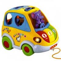 Автошка - развивающая музыкальная игрушка сортер-каталка