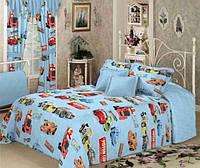 Комплект постельного белья Тачки детский